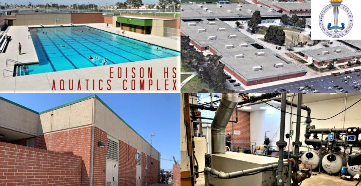 Renovation of Edison HS Aquatics Complex